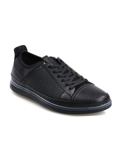 Tardelli 9500 Siyah Ortapedik Erkek Deri Ayakkabı Siyah